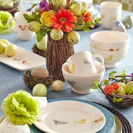Motive klassisches Geschirr Vase mit Ästen DIY