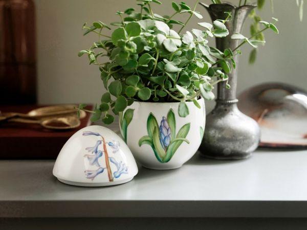 Motiven Ostern Dekorationen Osterfest Pflanzen Arrangement
