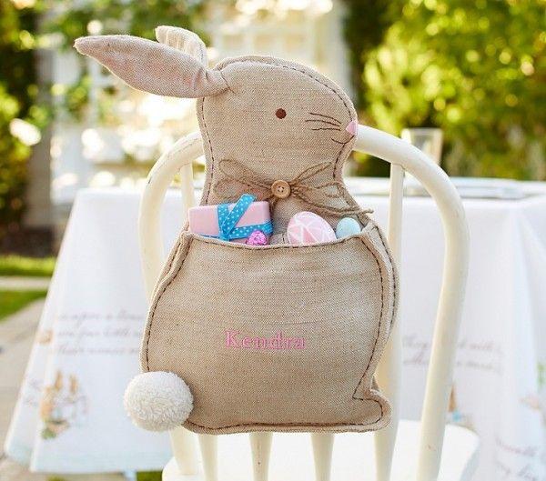 Ostern Tischdeko Garten Kaninchen