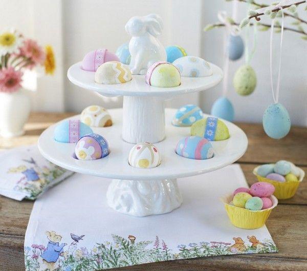Ostern Tischdeko Pastellfarben