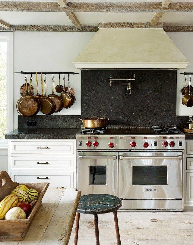 Profi-Gasherde-Küchenrenovierung Küchenrückwand Marmor