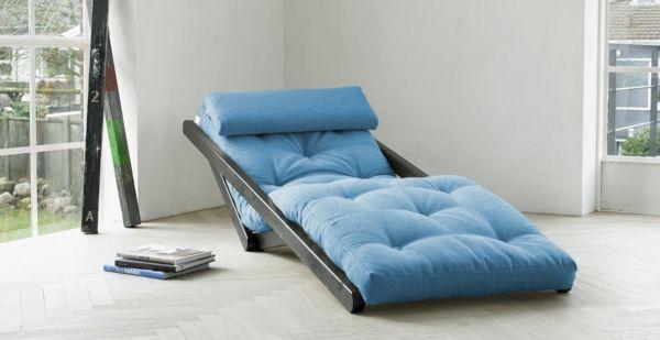 Relaxliege (Liegesessel) als Blickfang im Wohnraum