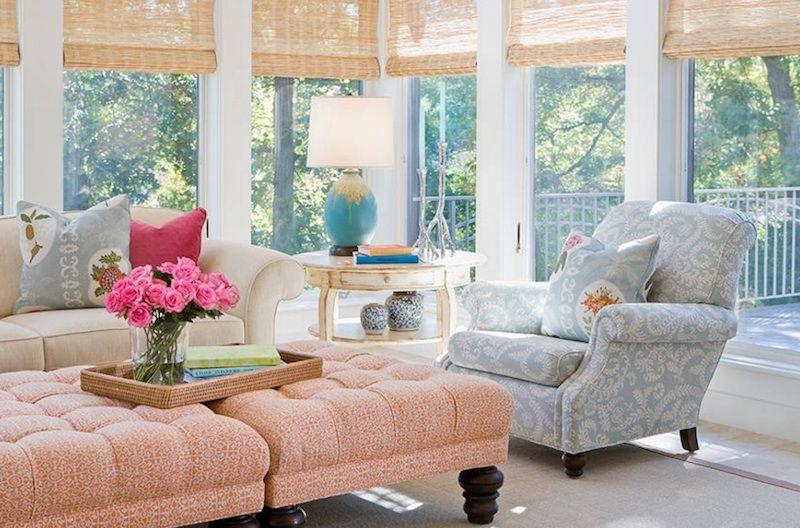 Rosa Quartz als Beistelltisch-Wohnzimmer Trendfarben Rosa Quartz