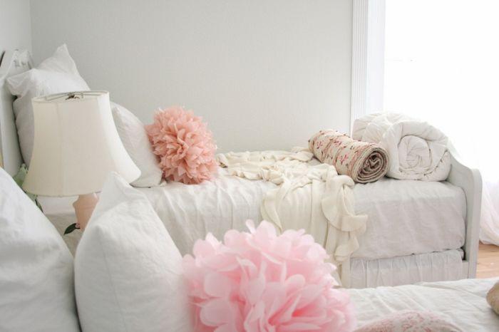 Shabby Chic Dekoration für das Schlafzimmer-ideen shabby chic