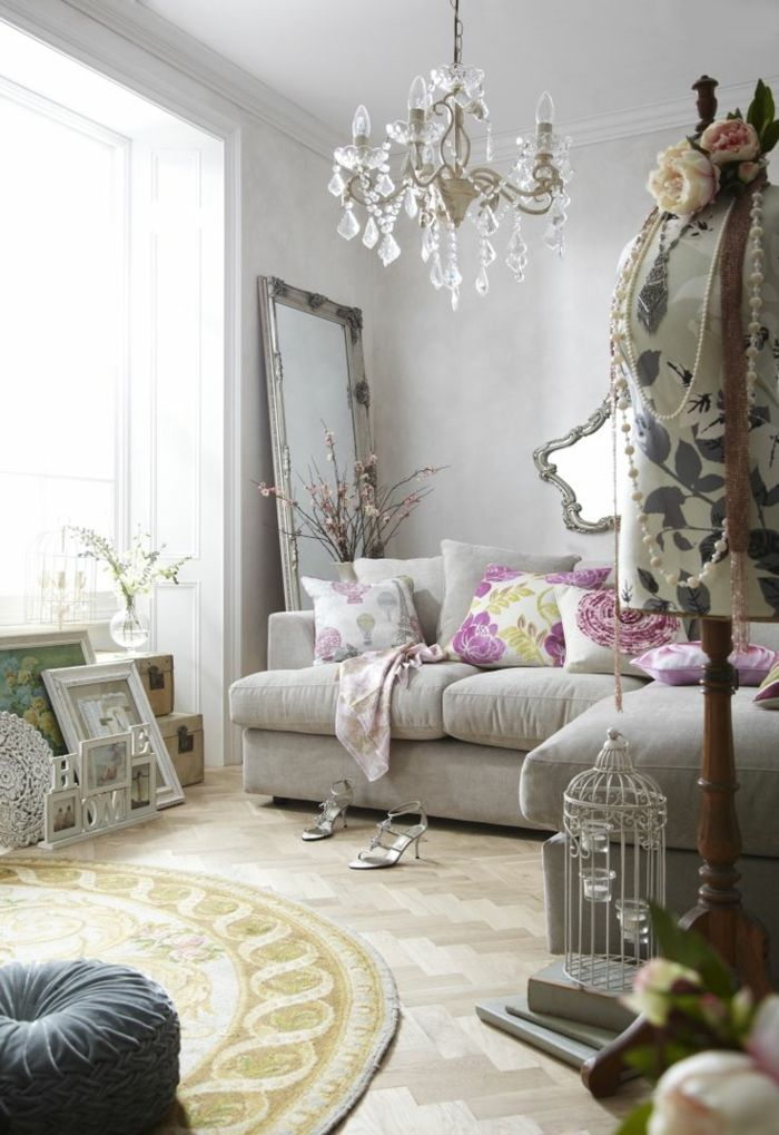 Beautiful Wohnzimmer Ideen Shabby Chic Gallery