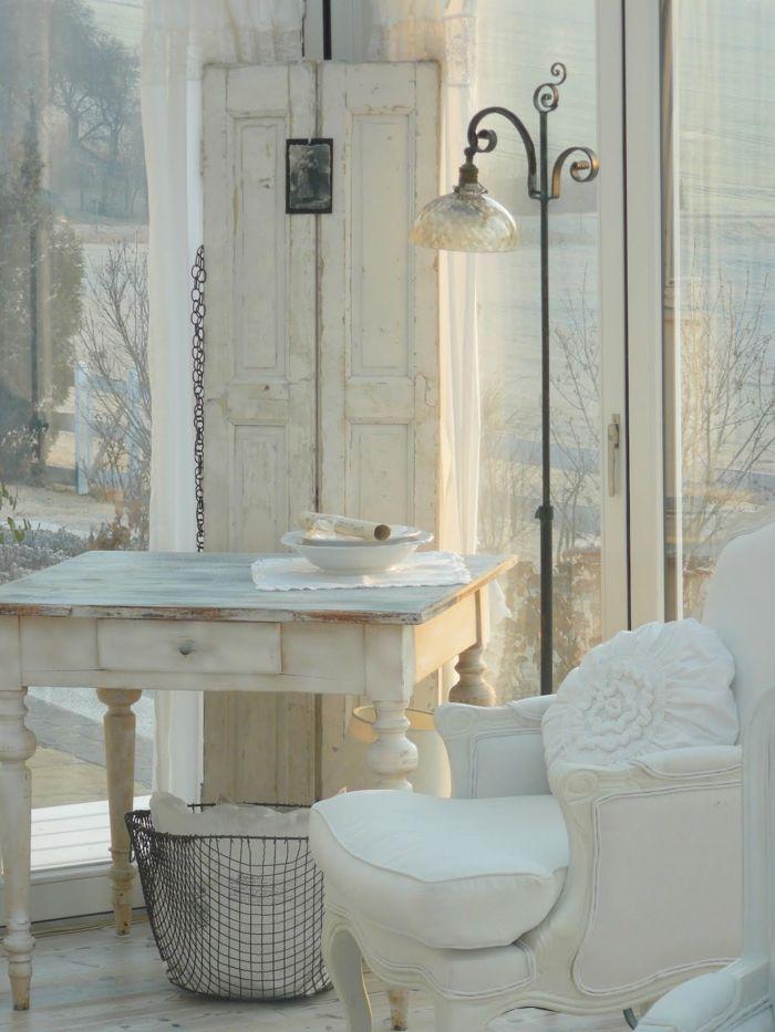 Shabby Chic Stehlampe : einrichten im shabby chic stil ~ Sanjose-hotels-ca.com Haus und Dekorationen