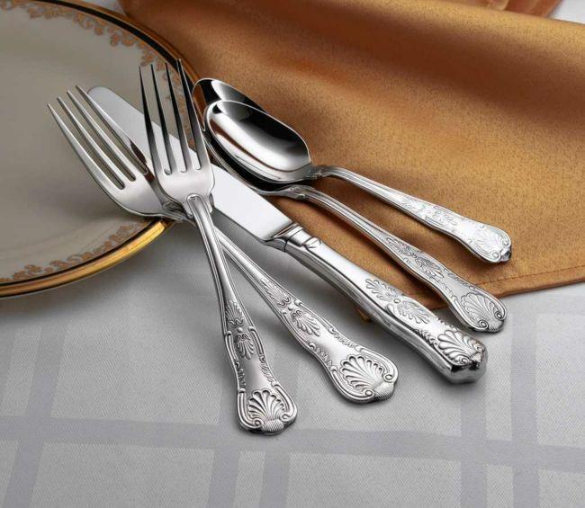 Silberwaren hochwertig Reinigung Hausmittel