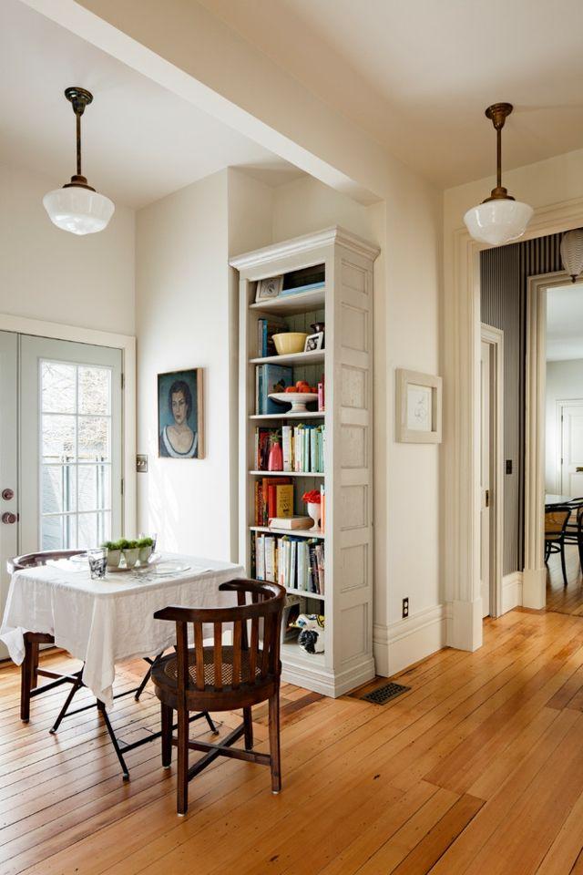 Sinnvolle Regalposition-Bücherregal einzeln beige Esszimmer