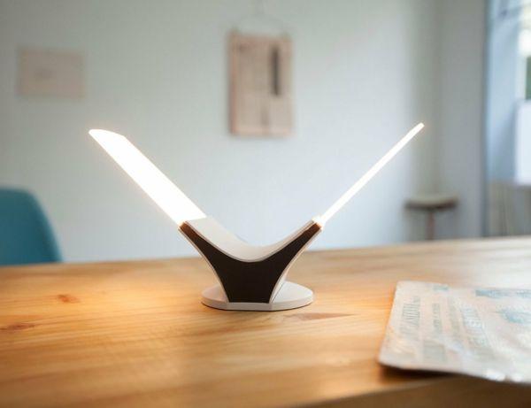 Stilvolle LED-Tischleuchte-Nachttischlampen