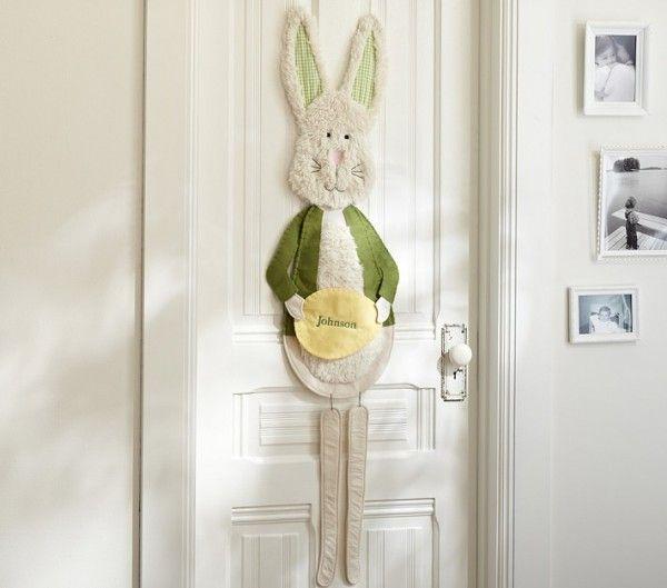Türdeko Ostern Hase Frühlingsdeko