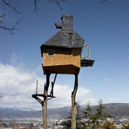 Teehaus Baumhaus japanisch Tradition