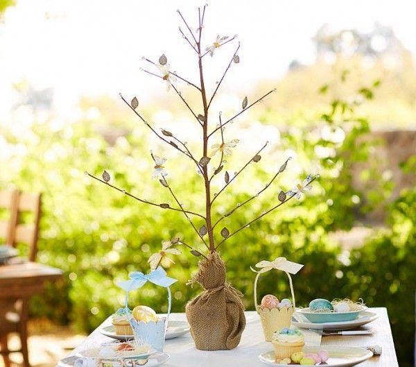 Tischdeko Ostern Gartenparty Brunch