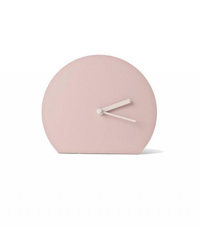Uhr im minimalistischen Stil-Wohnaccessoires