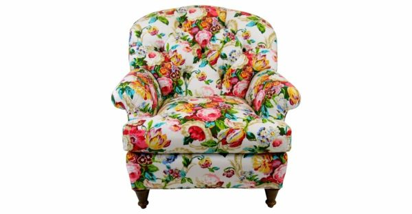 Vintage Chintz Sessel