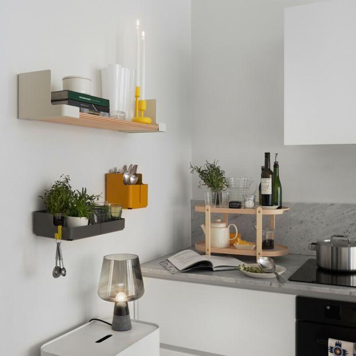 Wandboxen mit originellem Design insbesondere für kleine Wohnung-formschöne platzsparende Wandboxen Stahl Aufbewahrung