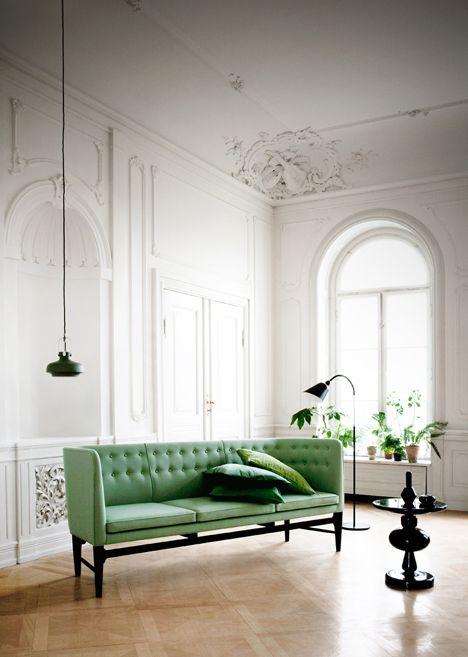 Warmes Akzentlicht im Wohnzimmer setzen-Wohnzimmer Beleuchtung Pendelleuchte