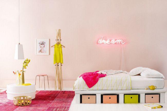 Zartes Rosa, Koralle und Hellgrün fürs Zimmer Ihres Mädchens-Kinderzimmer Designer