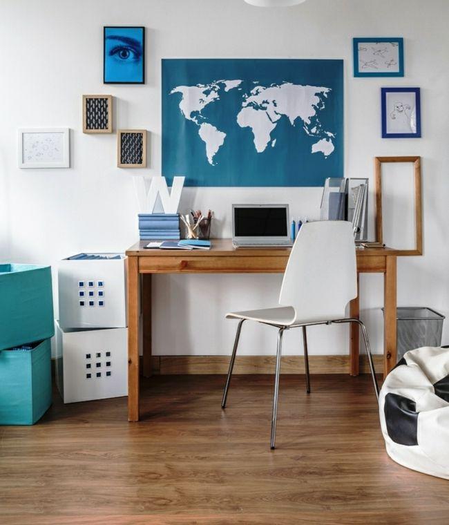 Zimmereinrichtung Weltkarte Sitzsack