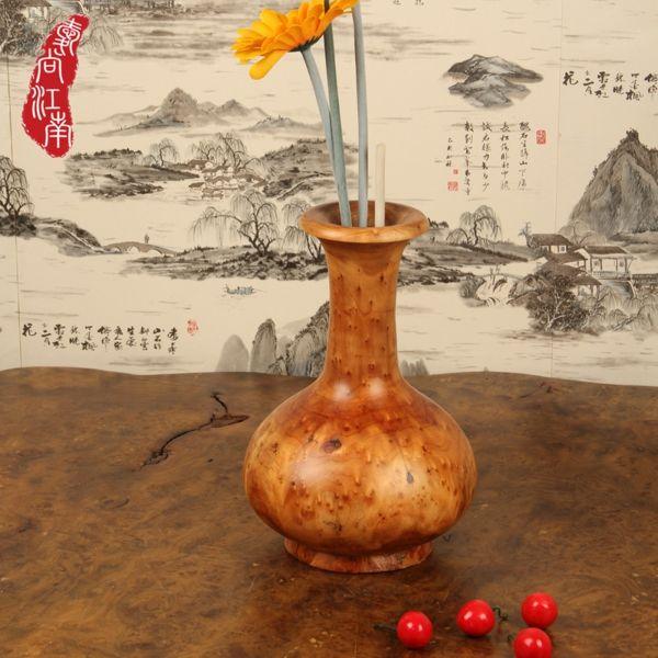 asiatisches Feeling durch Wohndekoration mit Bambusvase-Wohnaccessoires