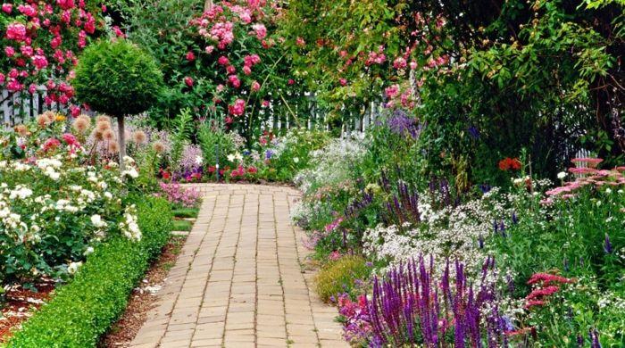 der Garden als Gemälde
