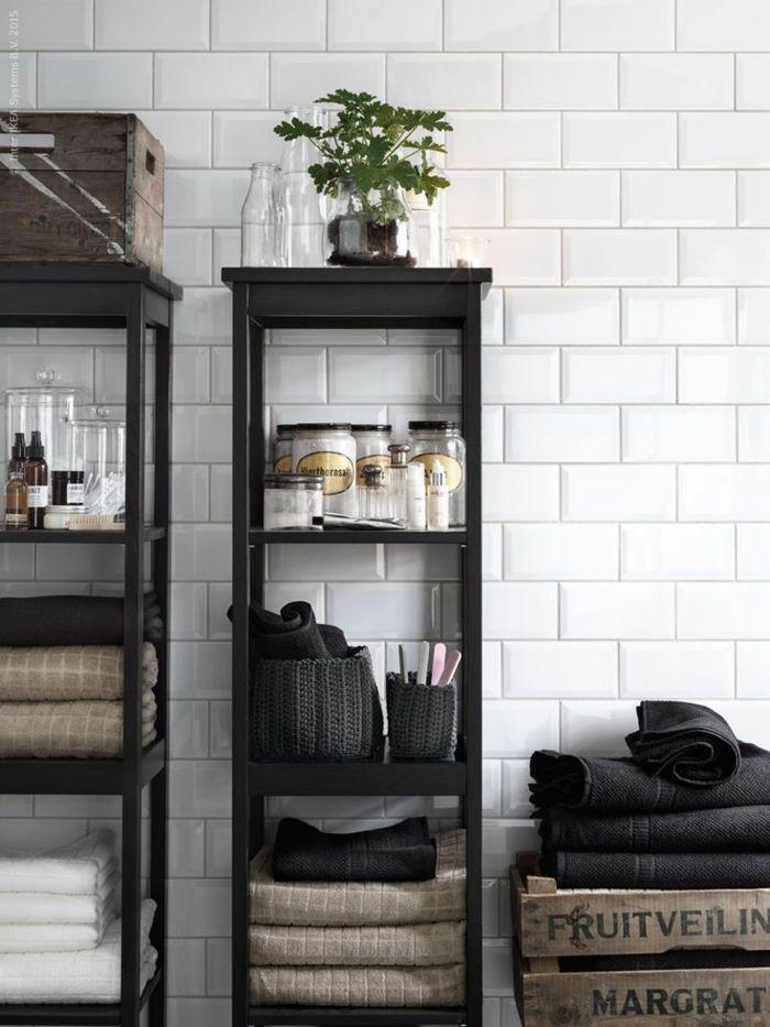 ikea bademöbel design vitrine holz