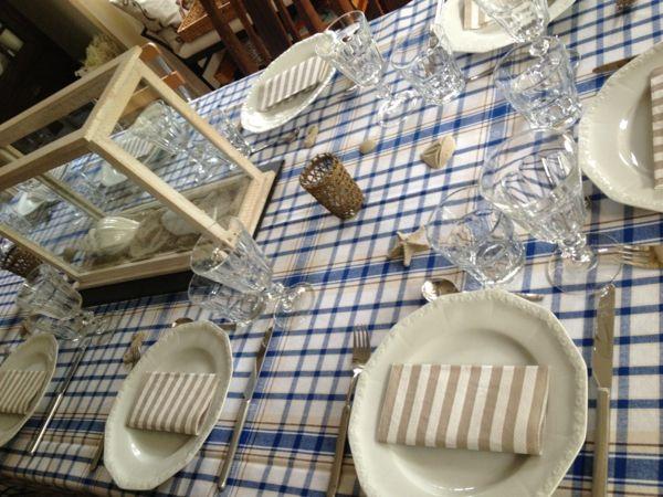 maritim vorangehen bei der Stoffauswahl für die Küche