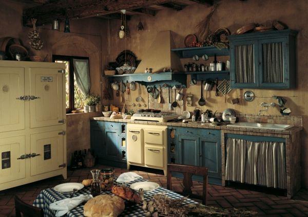 medeterrane Landhausküche