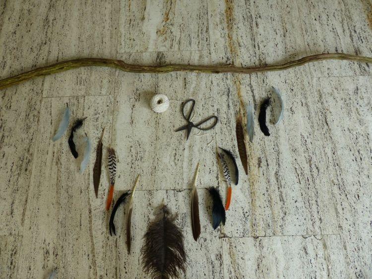 mit Federn basteln und dekorieren