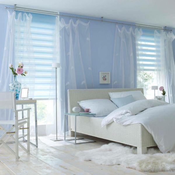 moderne bodenbeläge weisse holzdielen schlafzimmer-Bodenbelag weiss design