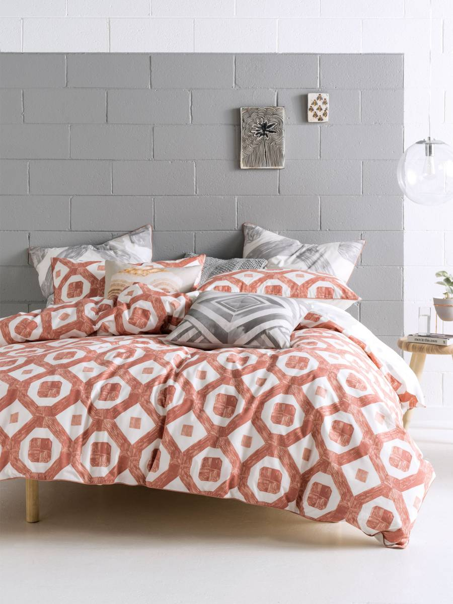modernes Schlafzimmer dekorative geometrische Bettwäsche-Set