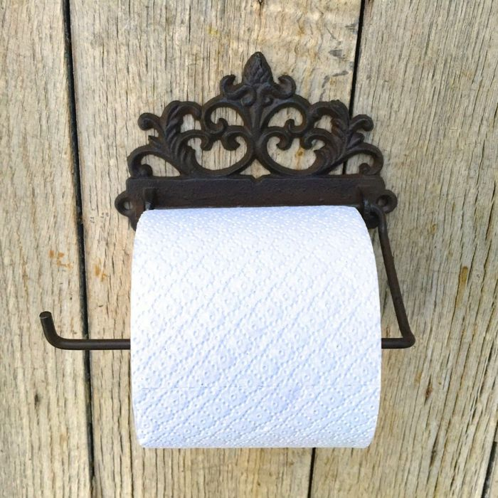 toilettenpapierhalter Nostalgie-Idee zum Wohnen