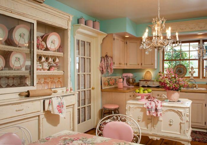 wundeschöne Shabby Chic Küche-ideen shabby chic