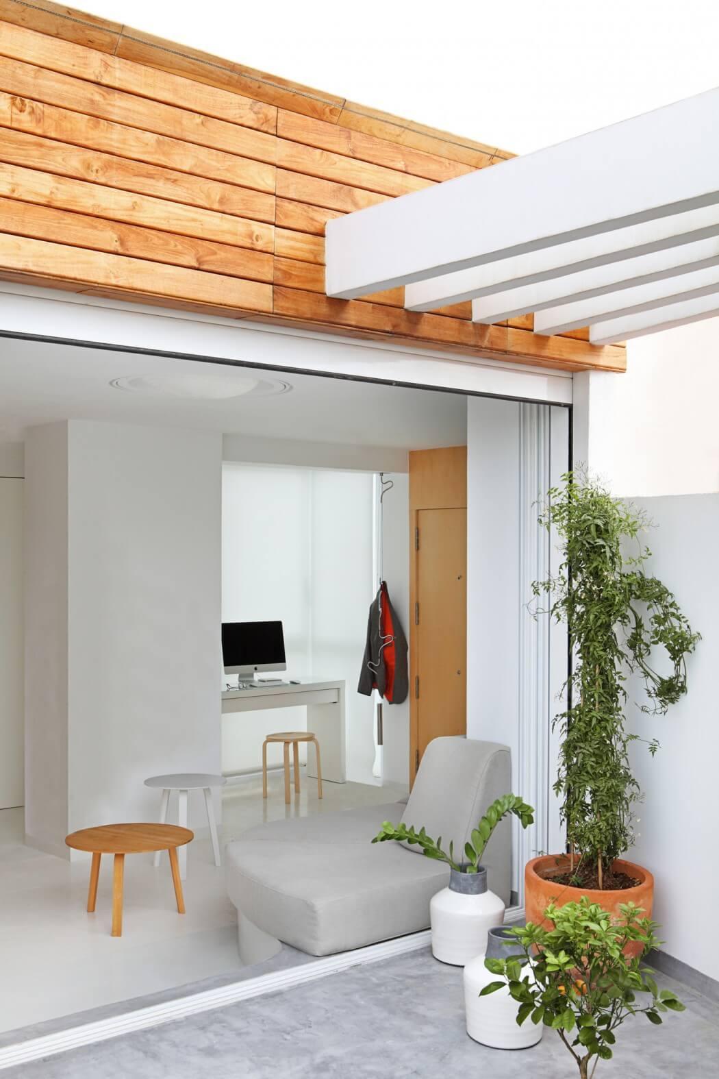 Übergang Stufe Wohnzimmer Terrasse