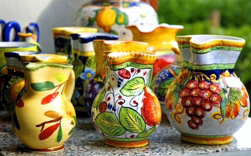Amalfiküste Straßen Kunst Keramik