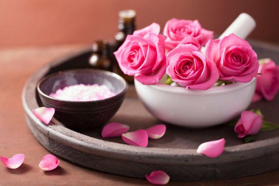 Aromabad im eigenen Zuhause mit selbstgemachtem Körpersalz-Aromatische Geschenke