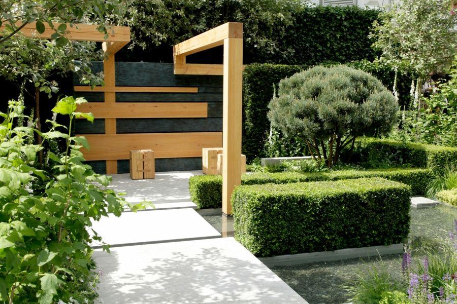 Außenanlagen klein Garten Rückzugsort