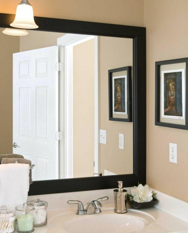 Badezimmer Spiegel Umgebung harmonisieren