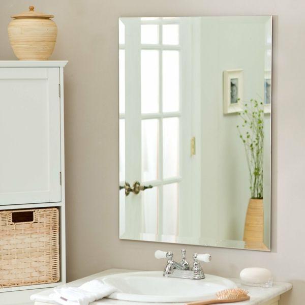 Badspiegel Platzierung Lebensenergie verstärken