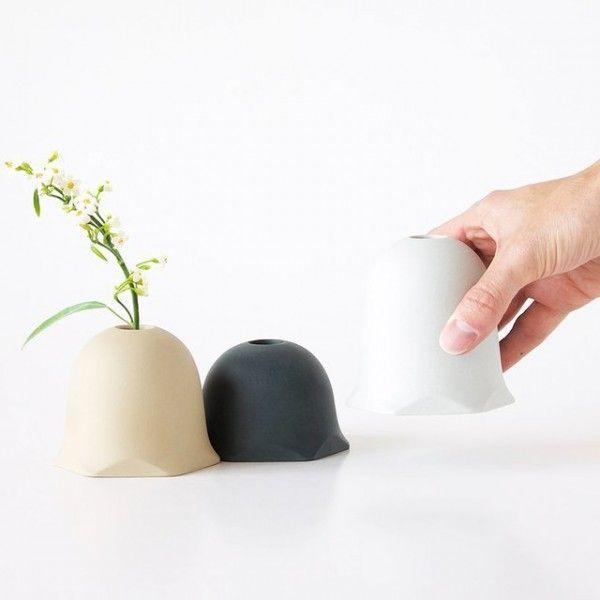 Designer Vasen Set Modul facettenreich