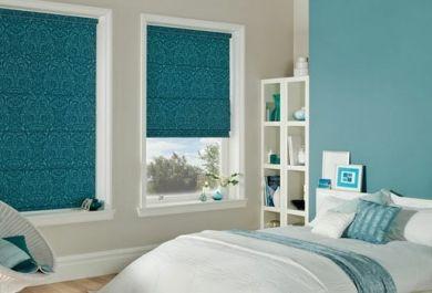 Raffrollos Blickfangende Fensterdekoration Und