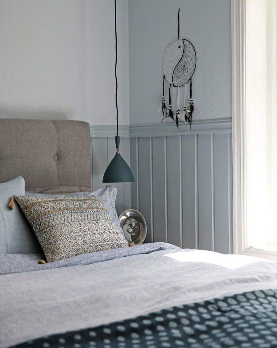 Farben entscheidend Rolle Wohnraum Blau