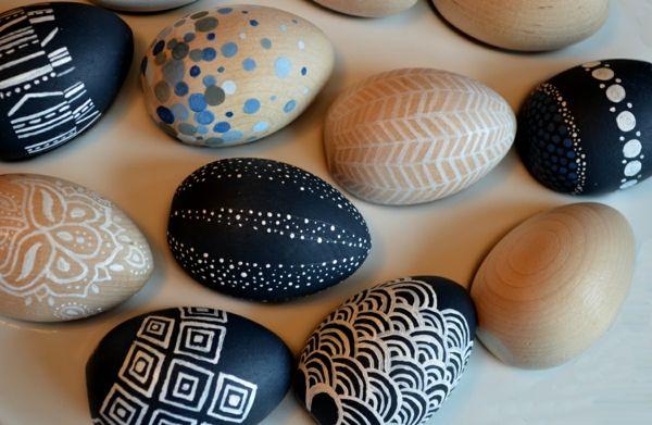 Frühling Tischdeko Eier dekorieren