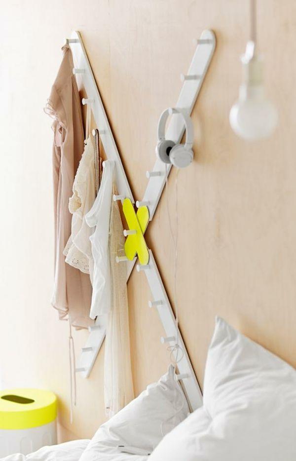 Ikea Leiste Wandhaken geometrisch