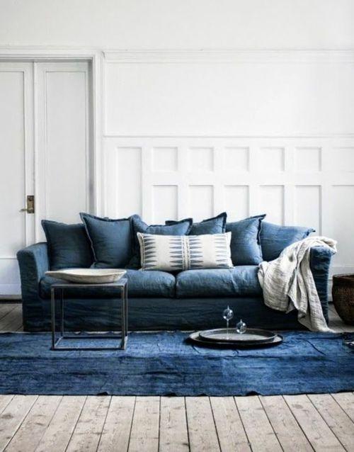 Jeansstoff Polsterbezug Teppich Sofabezug