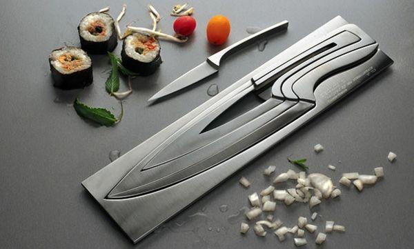 Küchenutensilien praktisch Messer-Set