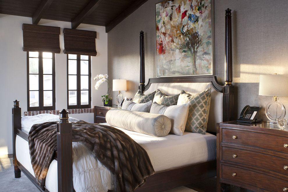 Kunstvoll farbig Malerei Schlafzimmer