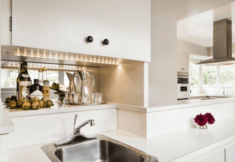 Leuchtbalken Unterbauleuchte Oberschrank Küche