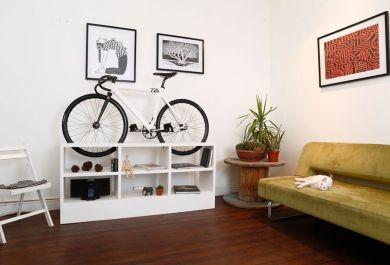 Fahrradständer Wohnung innovative möbel mit zweiter funktion als fahrradständer trendomat com
