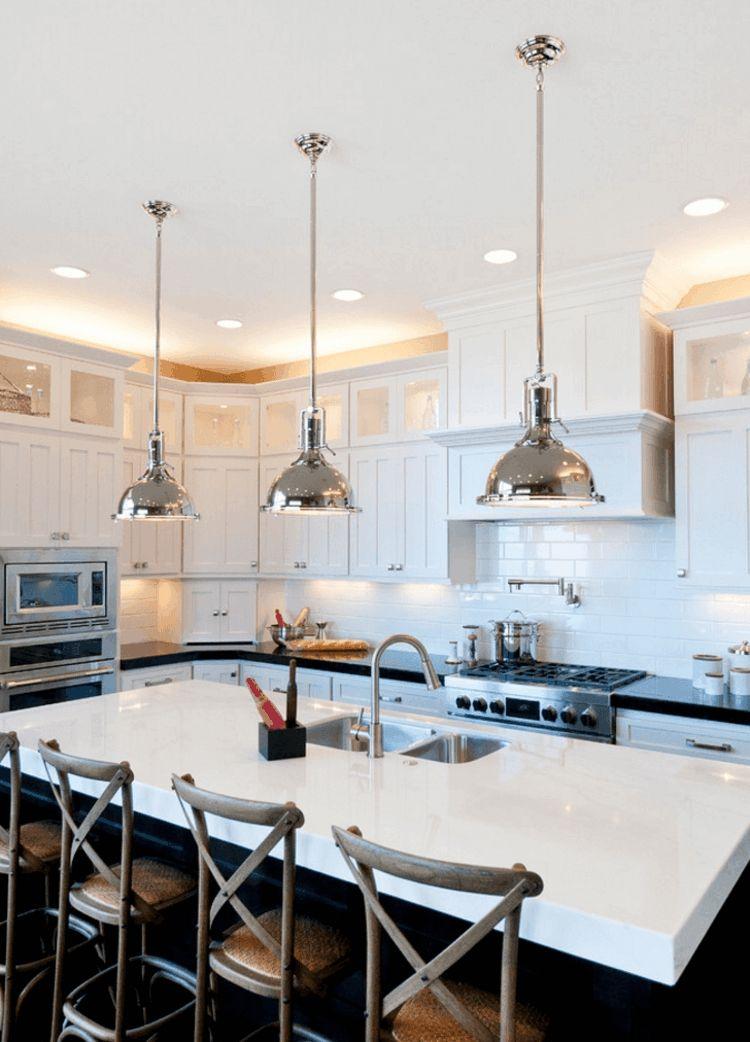 Oberschrankbeleuchtung optisch Akzente Küchenbereich
