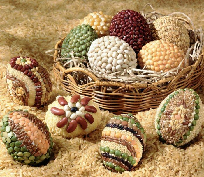 Ostereier lassen sich auf viele kreative Wege dekorieren